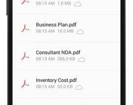 Full Adobe Acrobat Reader for Android screenshot