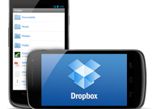 Dropbox for Android screenshot