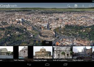 Full Google Earth for Android screenshot